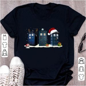 Original Doctor Who Tardis Police Box Christmas shirt