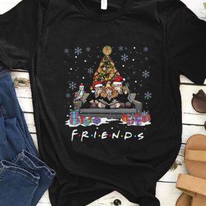 Original Friends Harry Potter christmas tree gift shirt