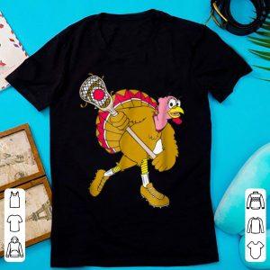 Original Funny Holiday Thanksgiving Lacrosse Turkey shirt