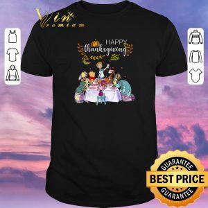 Original Happy thanksgiving Win the Pooh shirt