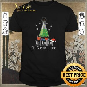 Original Ho Ho Ho Oh Chemist Tree Christmas shirt sweater