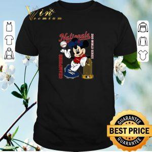 Original Mickey Washington Nationals Champions 2019 shirt sweater