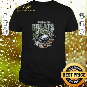 Original Philadelphia Eagles all time Greats signatures shirt