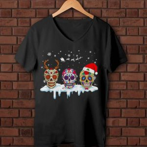 Original Sugar Skull Tattoos Christmas shirt