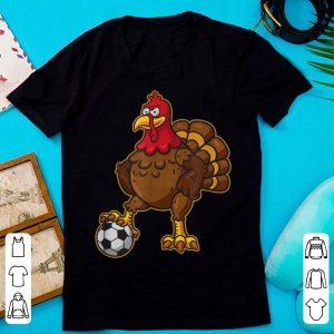 Original Thanksgiving Soccer Gobble Player Turkey Funny Football Gift shirt