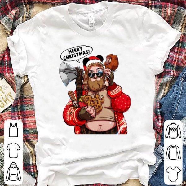 Original Thor Santa Merry Christmas The Big Lebowski shirt