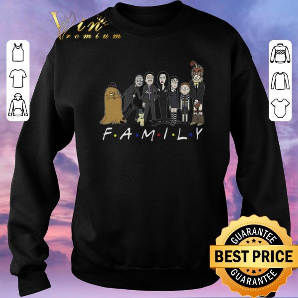 Premium Harry Potter Rick and Morty Family Friends shirt sweater