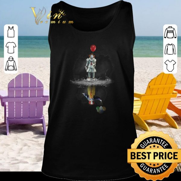Premium Pennywise reflection Water mirror Stephen King's IT The Clown shirt 2020