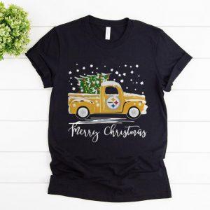 Premium Pittsburgh Steelers Pickup Truck Merry Christmas shirt