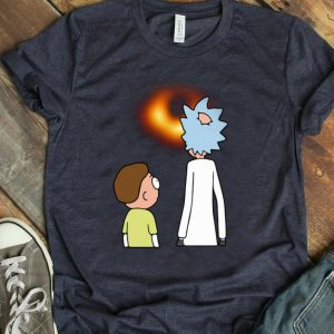 Premium Rick And Morty Black Hole shirt