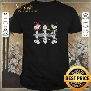 Premium Snoopy Christmas reflection water mirror shirt sweater
