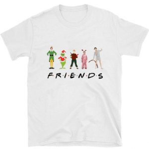 Pretty Christmas Characters Elf Grinch Kevin Friends shirt sweater