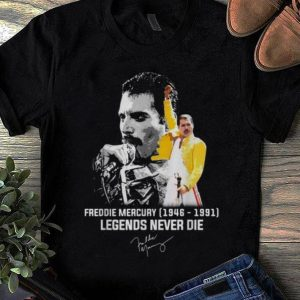 Pretty Freddie Mercury 1946 1991 Legends Never Die signature shirt