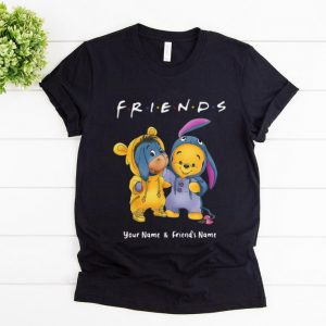 Pretty Friend Baby Pooh And Eeyore Winnie Your Name And Friends Name shirt