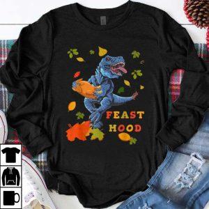 Pretty Funny Turkey Saurus Rex Thanksgiving Gift Feast Mood Gift shirt