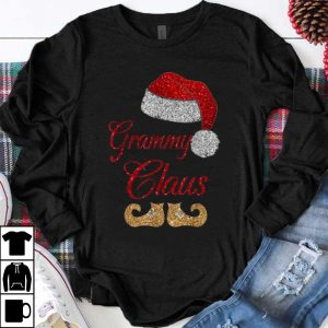 Pretty Grammy Claus Matching Family Group Christmas shirt