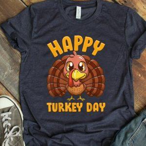 Pretty Happy Turkey Day Gobble Thanksgiving Day shirt