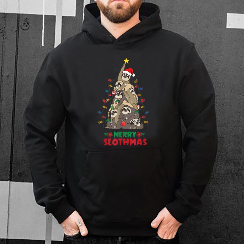 Pretty Merry Slothmas Sloth Christmas Tree Funny Chirstmas shirt 4 - Pretty Merry Slothmas Sloth Christmas Tree Funny Chirstmas shirt