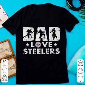 Pretty Pittsburgh Steelers Dad Love Steelers shirt