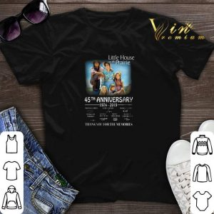 Signature Little house on the Prairie 45th anniversary 1974-2019 shirt