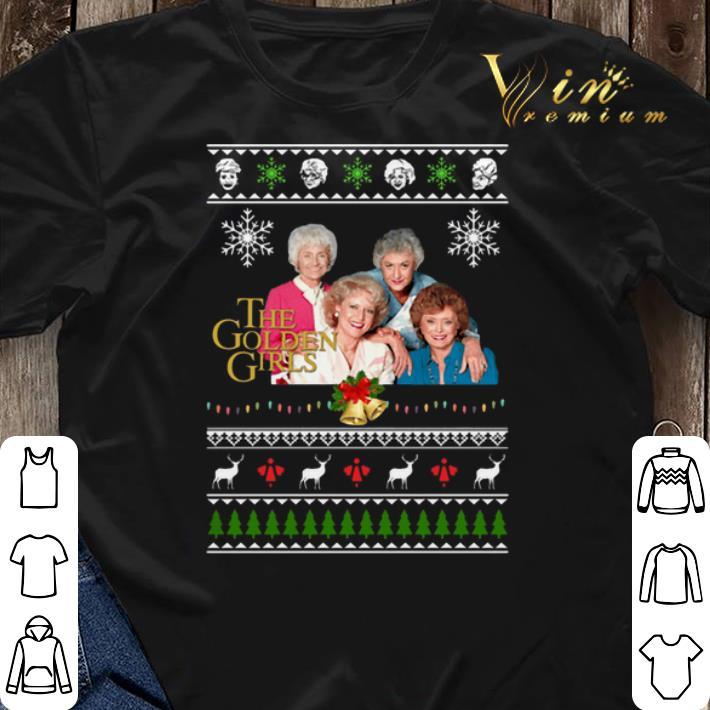 The Golden Girls Ugly Christmas shirt sweater 3 - The Golden Girls Ugly Christmas shirt sweater