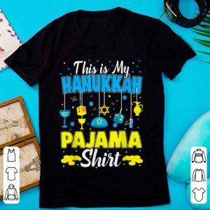 This is My Hanukkah Pajama Jewish Christmas Pajamas sweater