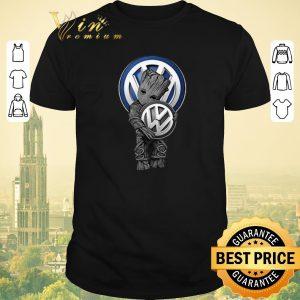Top Baby Groot Hug Volkswagen shirt sweater