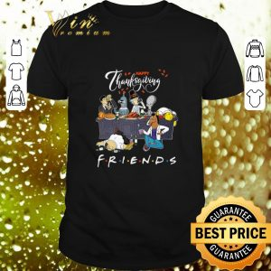 Top Bender Homer Simpson Rick Bojack Horseman Friends Thanksgiving shirt