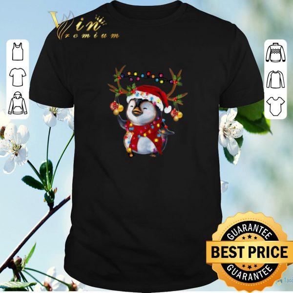 Top Christmas Santa Penguin Reindeer shirt