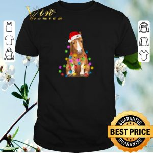 Top Christmas horse merry and bright shirt sweater