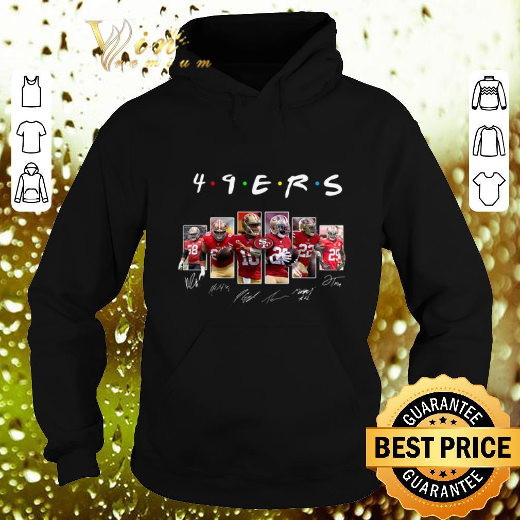 Top Friends San Francisco 49ers signatures shirt 4 - Top Friends San Francisco 49ers signatures shirt