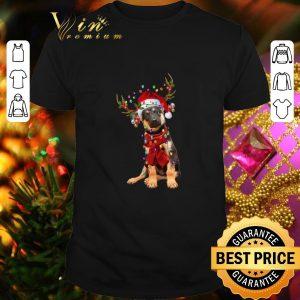 Top German Shepherd Reindeer Christmas shirt