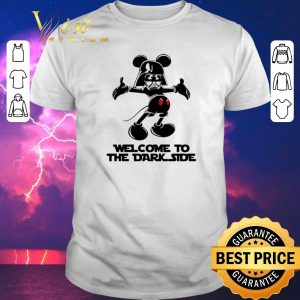Top Mickey Darth Vader welcome to the dark side shirt sweater