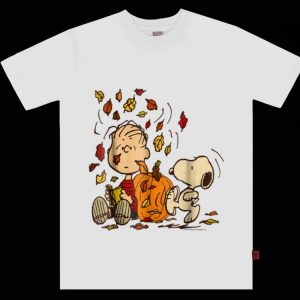 Top Peanuts Snoopy & Linus Fall Thanksgiving Day shirt