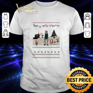 Top Salad Fingers have a rusty Christmas shirt
