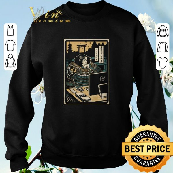 Top Samurai Programmer shirt sweater