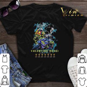 Valentino Rossi world titles 6 Signature shirt