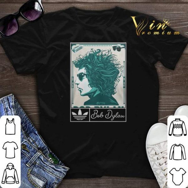 Adidas 2019 Bob Dylan Music Art Silk shirt sweater