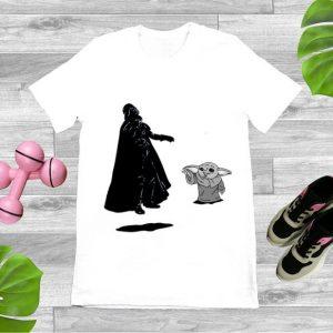 Awesome Baby Yoda and Darth Vader shirt