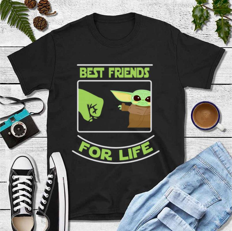 Awesome Best friends for life Baby Yoda shirt 4 - Awesome Best friends for life Baby Yoda shirt