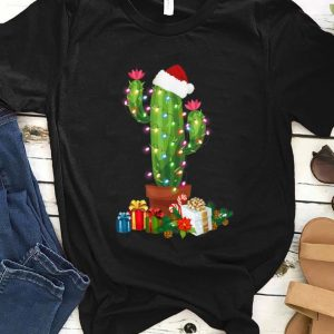 Awesome Christmas Lights Cactus Lover Funny Xmas Gift sweater