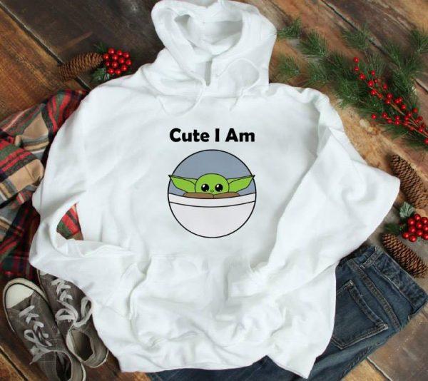 Awesome Cute I am baby Yoda shirt