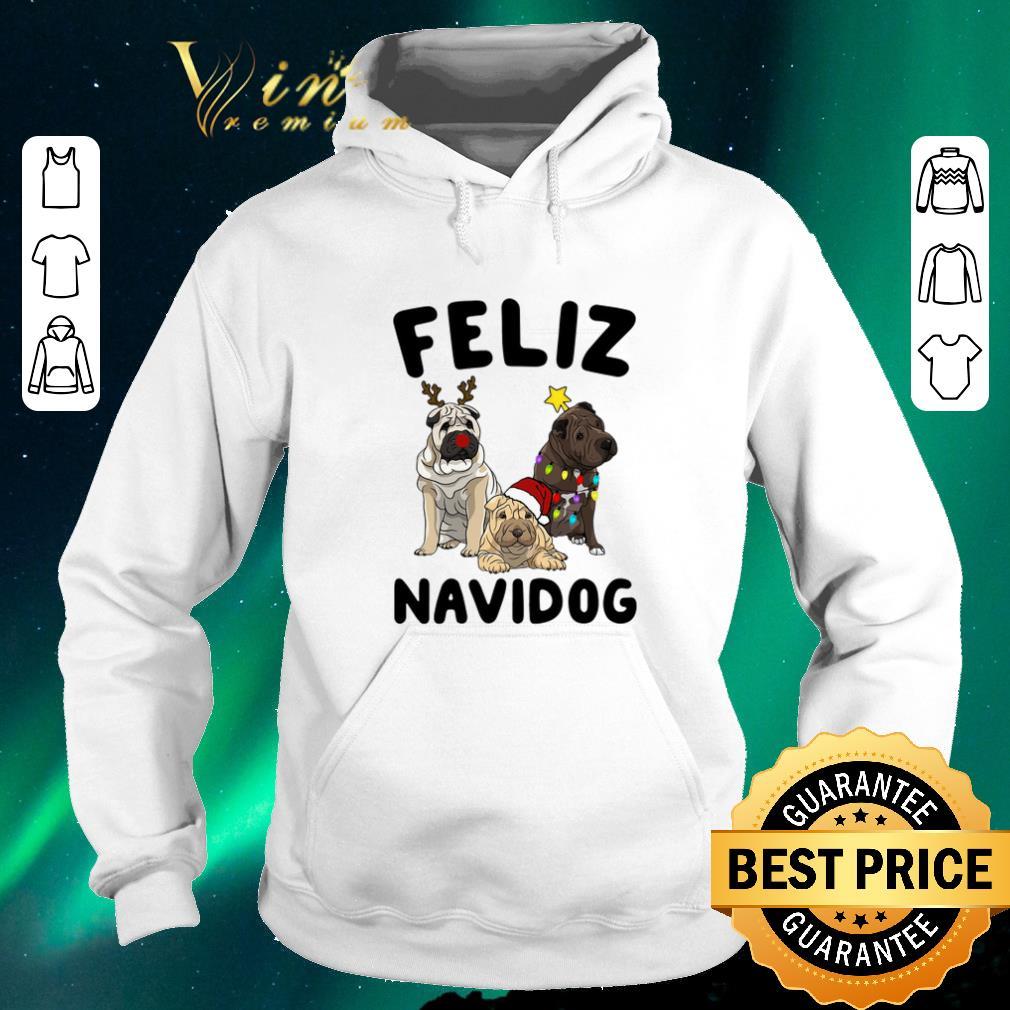 Awesome Feliz Navidog Shar Pei Christmas shirt sweater 4 - Awesome Feliz Navidog Shar Pei Christmas shirt sweater