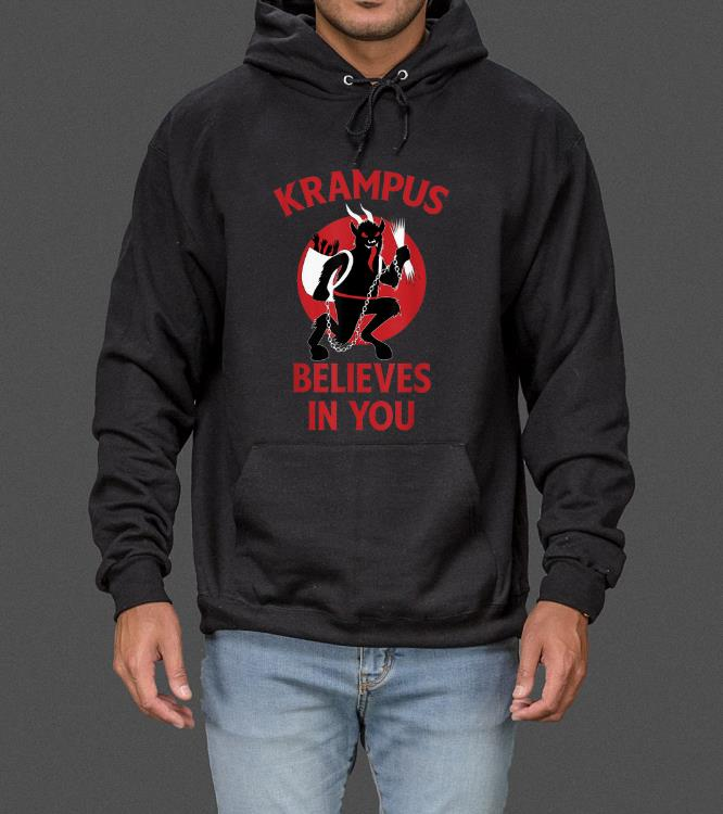 Awesome Krampus Believes In You Germanic Christmas Demon sweater 4 - Awesome Krampus Believes In You Germanic Christmas Demon sweater