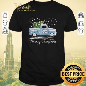 Awesome Merry Christmas North Carolina Tar Heels Pickup Truck shirt