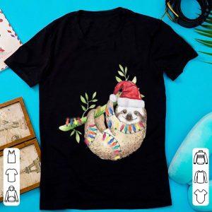 Awesome Santa Sloth Christmas Lights Sloth Lover Gift Sloth sweater