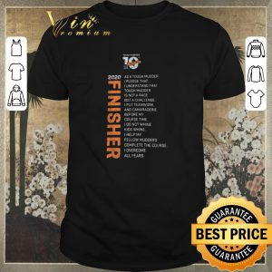 Awesome Tough Mudder 10th Anniversary 2020 Finisher shirt sweater