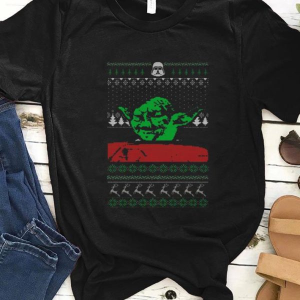 Awesome Yoda Star Wars Ugly Christmas shirt