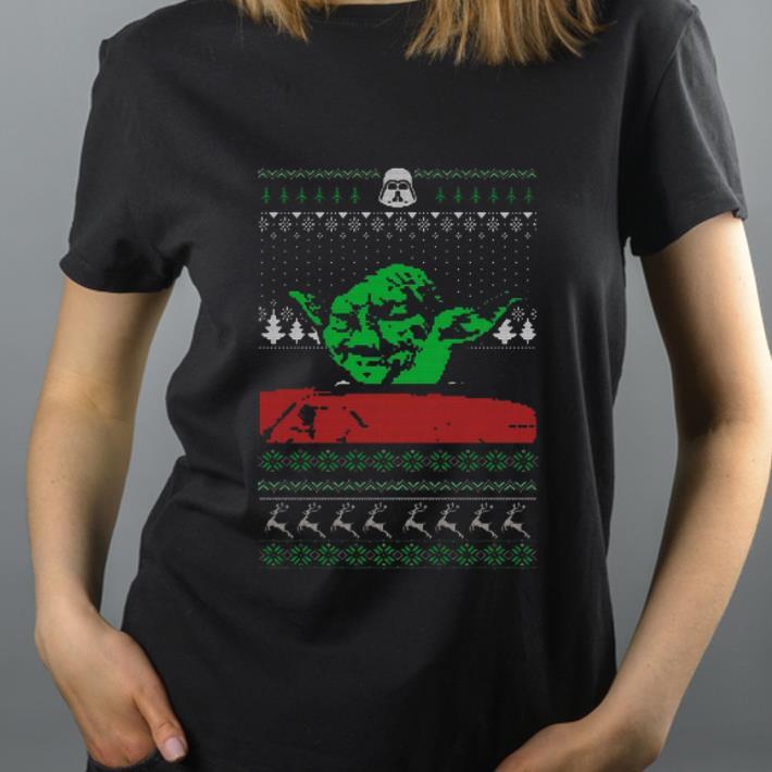 Awesome Yoda Star Wars Ugly Christmas shirt 4 - Awesome Yoda Star Wars Ugly Christmas shirt