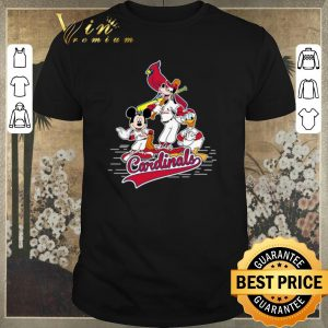 Awesome st louis cardinals mickey donald and goofy shirt sweater